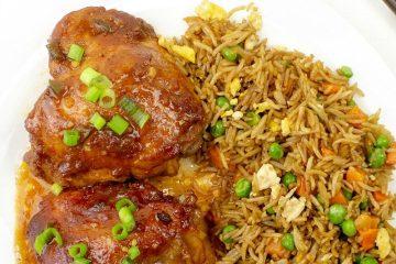 Asian Barbecue Chicken Bake