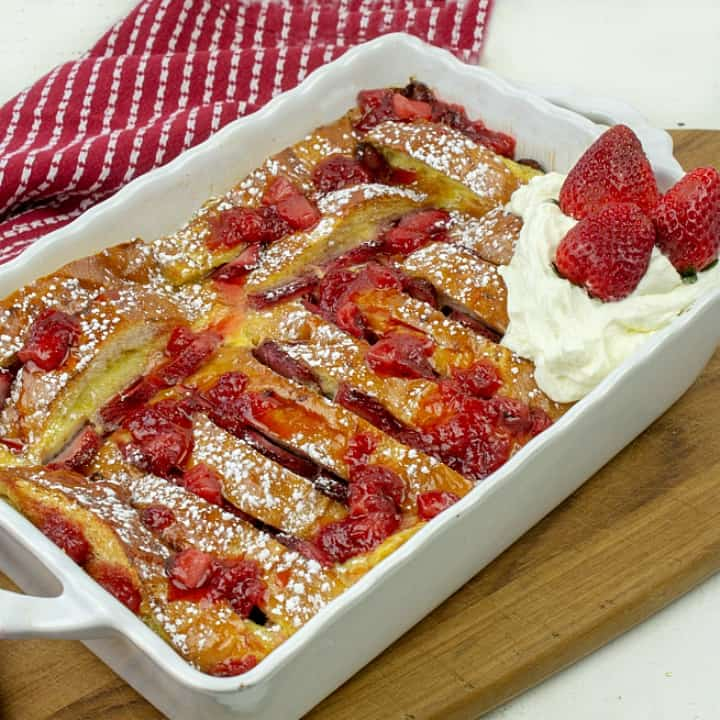 oven strawberry french toast