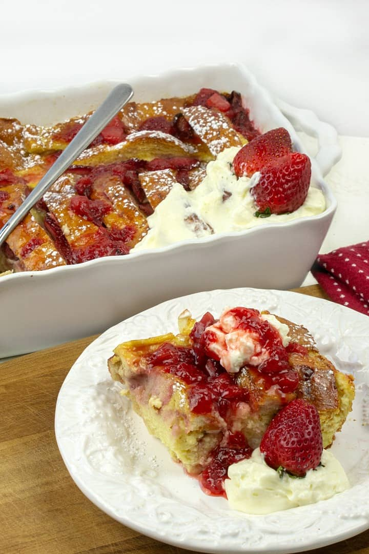 sliceof oven strawberry french toast