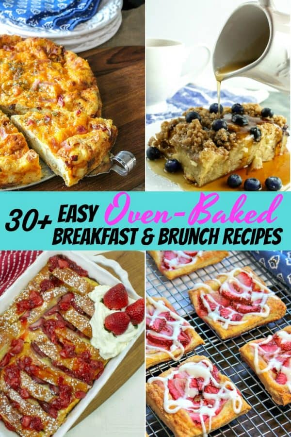 Looking for a delicious crowd pleasing breakfast or brunch recipe to add to your menu? These easy breakfast and brunch recipes are simple and many can be made ahead so you'll be ready just in time! Great for breakfast or brunch potlucks too!