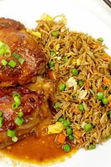 Asian Barbecue Chicken Bake