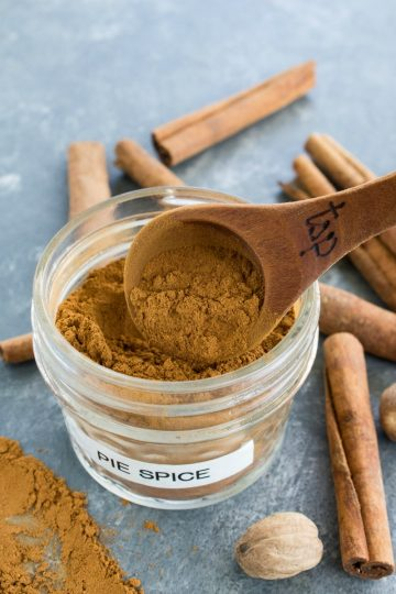 Add amazing flavor to your fall recipes with this simple pumpkin pie spice blend.