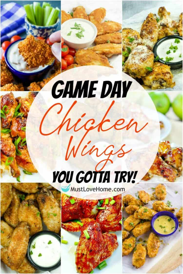 Chicken Wings are definitely a classic appetizer that screams football season has arrived. These are all game day wings you gotta try. Make any (or all) of these tasty recipes and they'll surely be the star of the half-time show!