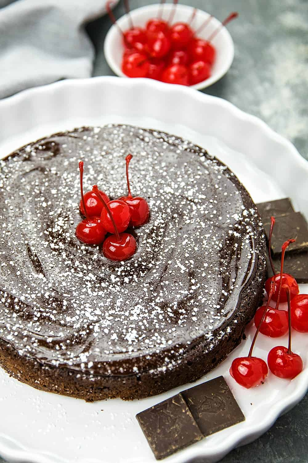 Flourless Chocolate Cake With Dried Cherries Must Love Home