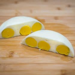 Instant Pot Egg Loaf is a super speedy way to hard cook lots of eggs at once, and no peeling needed. You just chop the eggs when they're done!