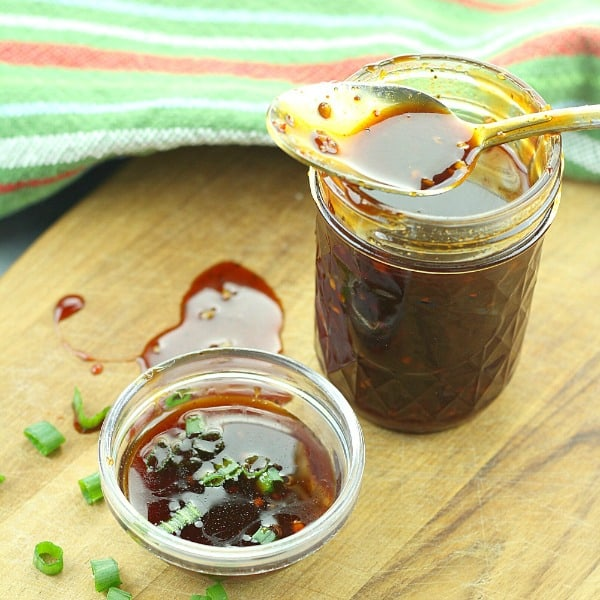 Spiced with Gochujang, this sticky and spicy Korean barbecue sauce is versatile enough to pair with any grilled meat or used to season stir fry, lettuce wraps and soups.
