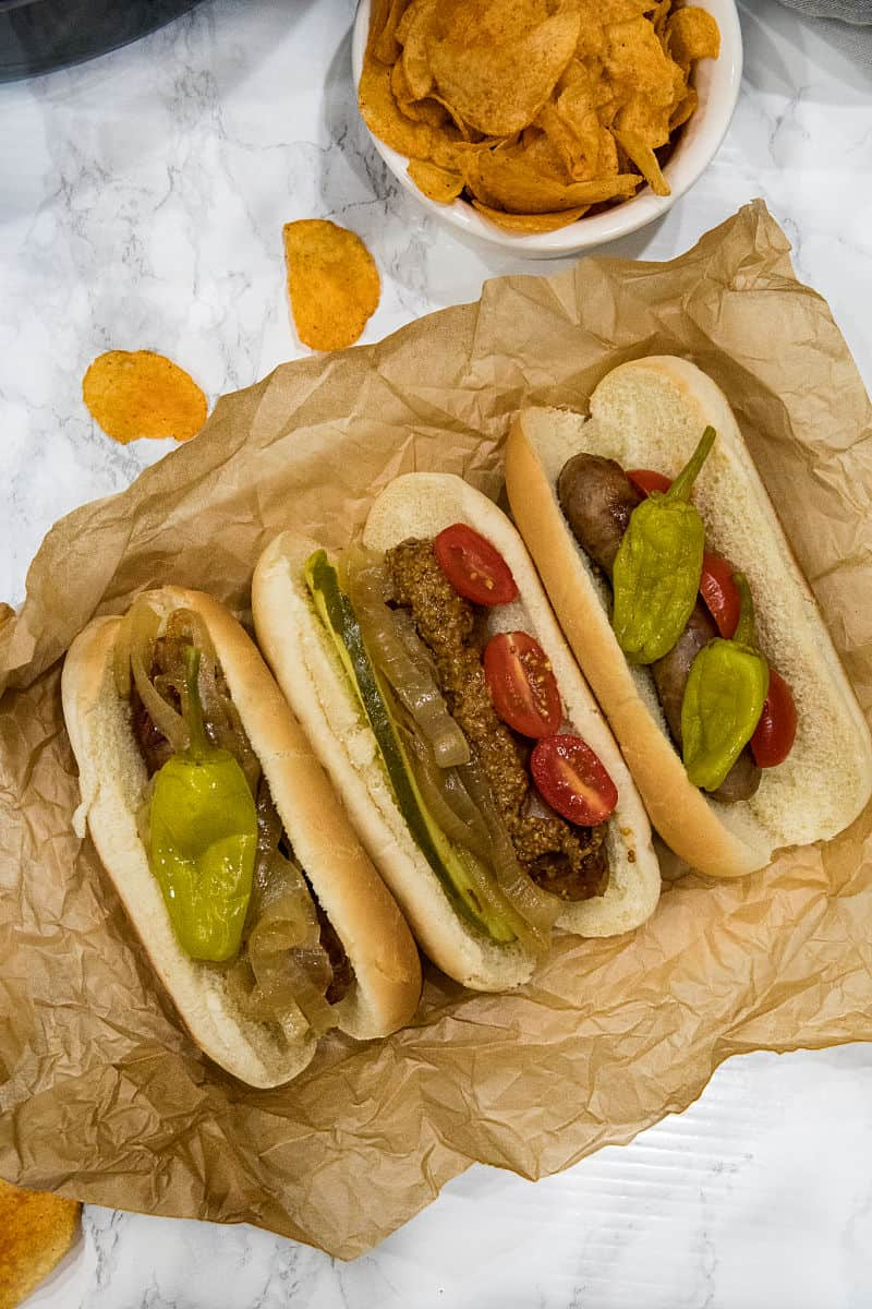 Full of malt and garlic flavors, these slow cooker beer brats are one of the easiest and tastiest crock pot recipes you'll ever make.